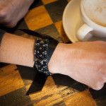 SCRAP RIBBON BRACELET DIY - https://www.trinketsinbloom.com/scrap-ribbon-bracelet-diy/