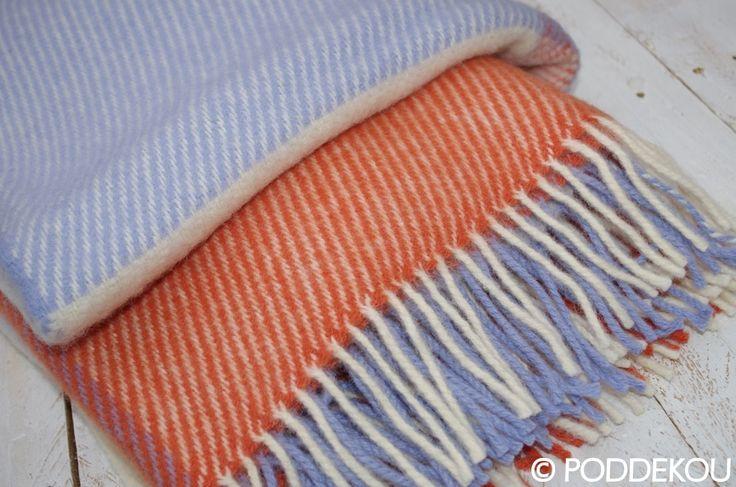 Pekná vlnená deka