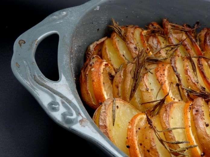 Pommes de terres grillées au citron et au thym (Israël)