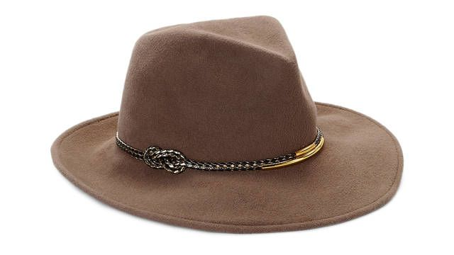 Did someone say Indiana Jones? This Eugenia Kim hat is awesome.