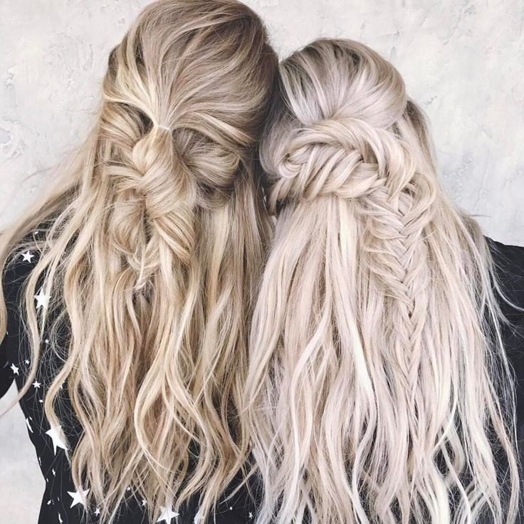 "2,745 Likes, 29 Comments - Chrissy Rasmussen (@hairby_chrissy) on Instagram: ""Braiding besties with @habit.hand.tied.extensions 