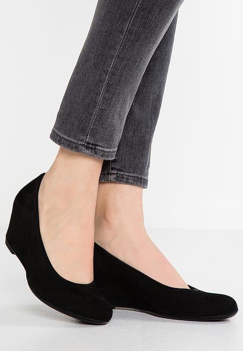 Chaussures Gabor Escarpins compensés schwarz noir: 110,00 € chez Zalando (au