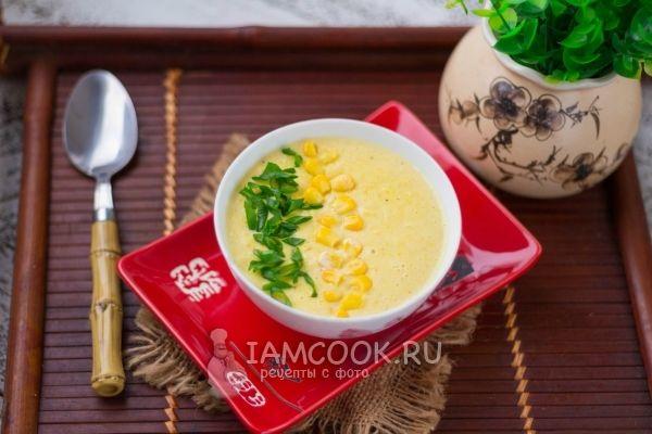Рецепт японского кукурузного супа