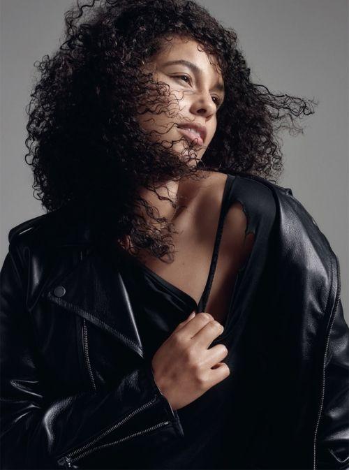 Алиша Киз для ELLE UK, Alicia Keys ELLE UK