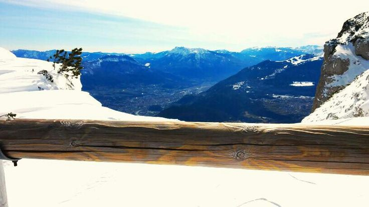 Love for snow, mountains and ski ❤  Andalo landscape