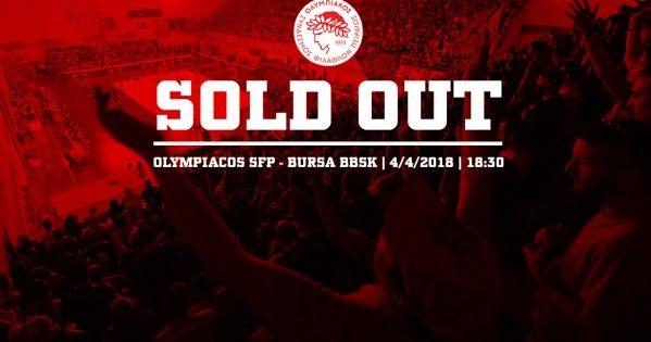 Εξαντλήθηκαν τα εισιτήρια του τελικού με την Μπούρσα!