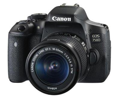 Canon EOS 750D-EF-S 18-55mm IS STM Kit Kamera DSLR | specification
