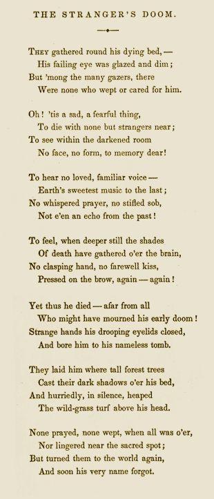 Edgar Allan Poe Poems | The POE SHADOW : POE DEATH DOSSIER