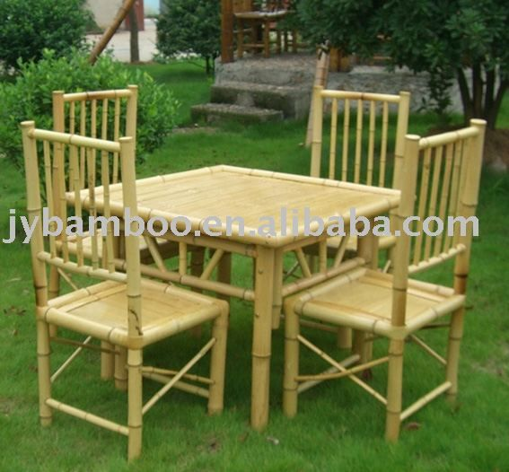 indoor/outdoor bamboo furniture/bamboo table/bamboo chair