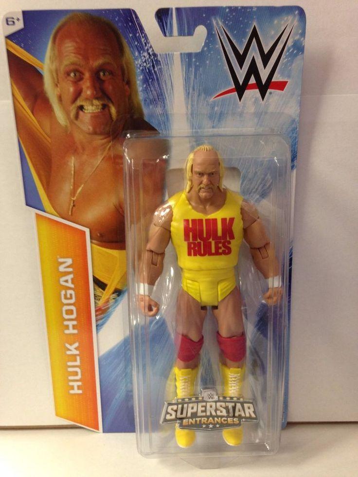 HULK HOGAN WWE Mattel Walmart Exclusive Superstar Entrances Last Action Figure #Mattel