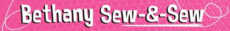 Bethany Sew-and-Sew: Basic Fleece Hat Tutorial plus Flower Embellishment