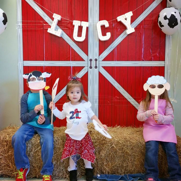 Farm Birthday Party - Giggles Galore