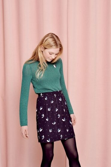 Printed skirt by French label Des Petits Hauts