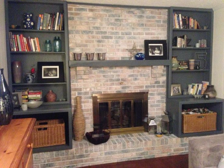 Best 25 White Washed Fireplace Ideas On Pinterest Brick Fireplace Mantles Fire Place Decor
