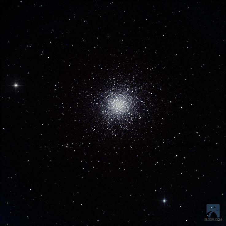 Globular M13 in the Constellation of Hercules through the 20'' scope