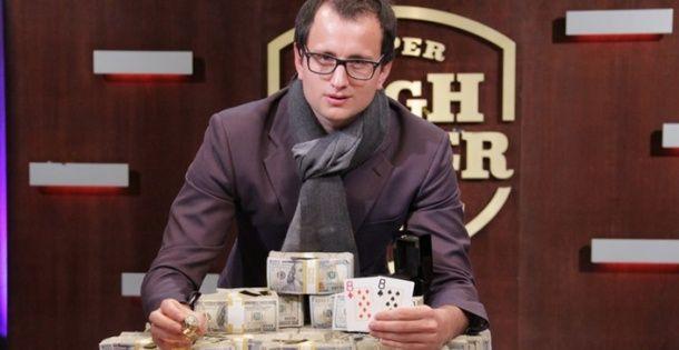Articole Stiri pe PariuriX.com: Rainer Kempe câștigă turneul de poker Super High Roller Bowl și ia un cec de $5,000,000! Vezi cum s-a descurcat Daniel Negreanu!