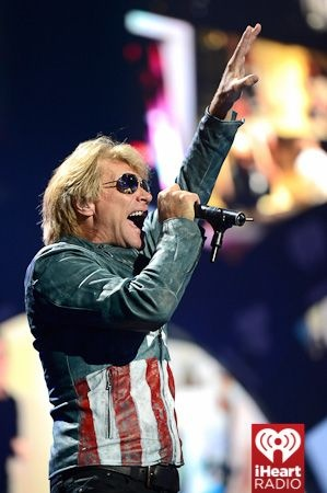 Bon Jovi performs on-stage at the #iHeartRadio Music Festival at the #MGM Grand #LasVegas September 22, 2012