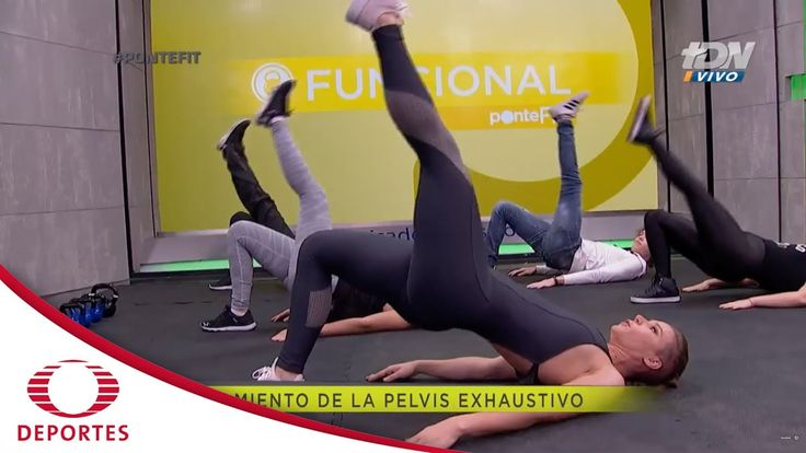 Rutina Fit: Masa muscular en tren inferior | Ponte Fit | Televisa Deportes - YouTube