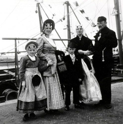 Texels gezin