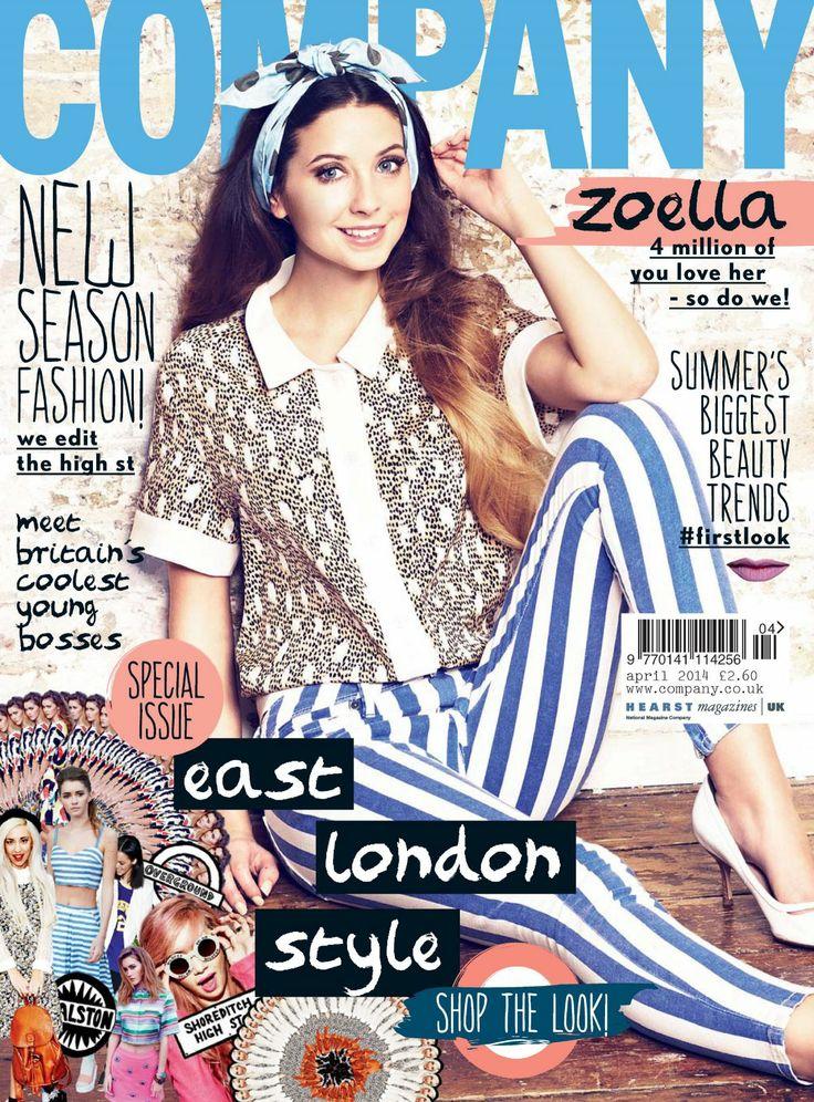 Zoella for Company UK April 2014