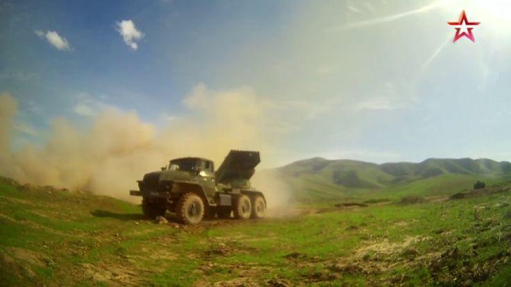 Les lance-roquettes multiples BM-21 Grad en Arménie