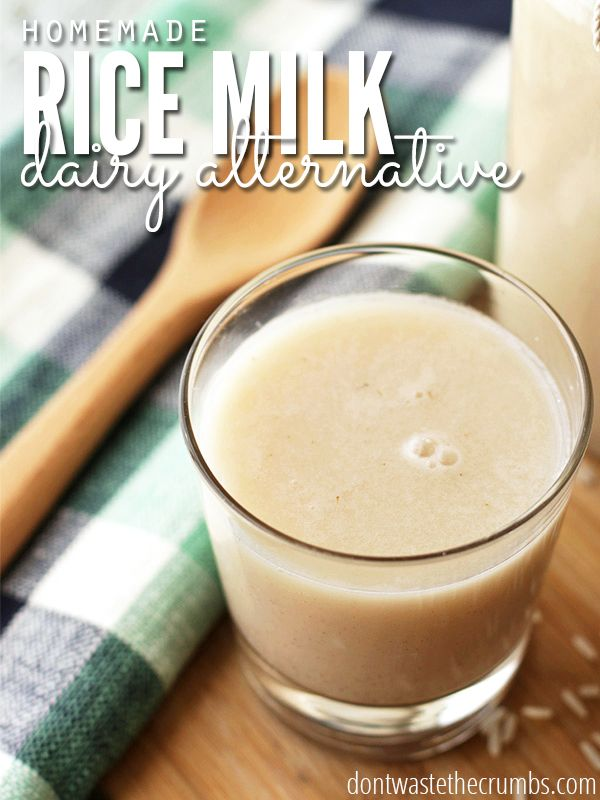 Homemade rice milk costs just 6¢ to make! Compared to store-bought, you're saving 99%!! My favorite variation is cinnamon vanilla - it's so good!