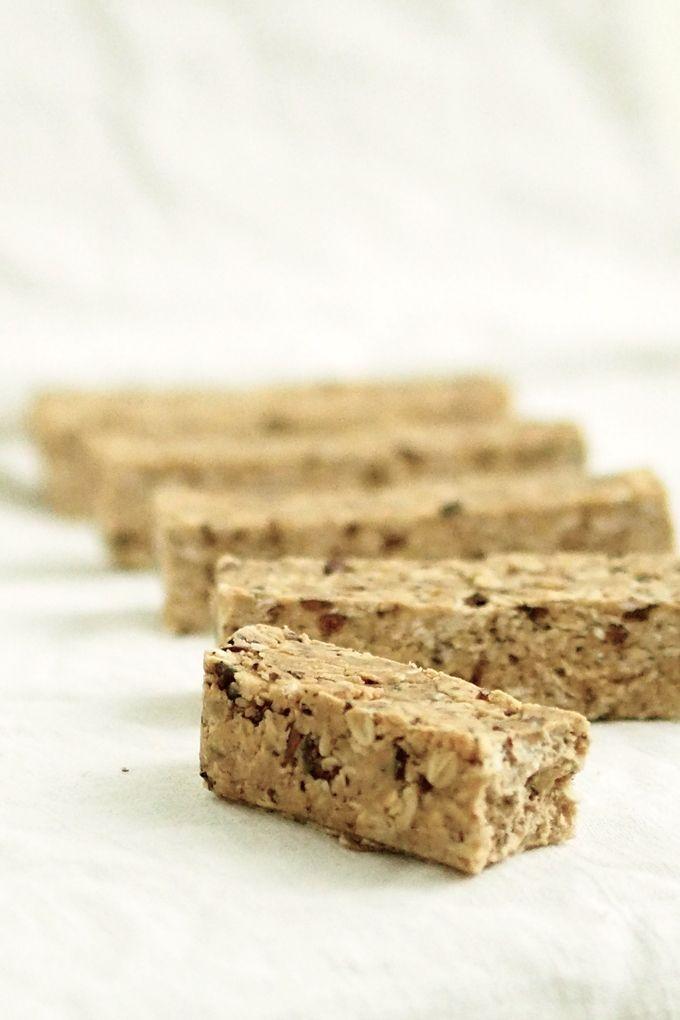 Kauraiset proteiinipatukat (pähkinätön) | Karita Tykän Blogi