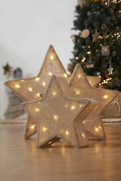 ▷ 1001 + ideas de estrellas de navidad hechas a mano
