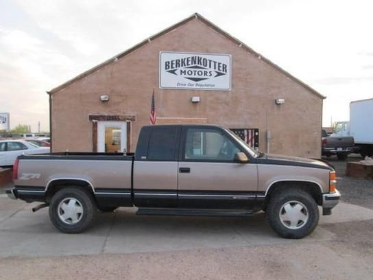Cars for Sale: 1996 Chevrolet Silverado and other C/K1500 4x4 Extended Cab in Castle Rock, CO 80104: Truck Details - 345853232 - AutoTrader.com