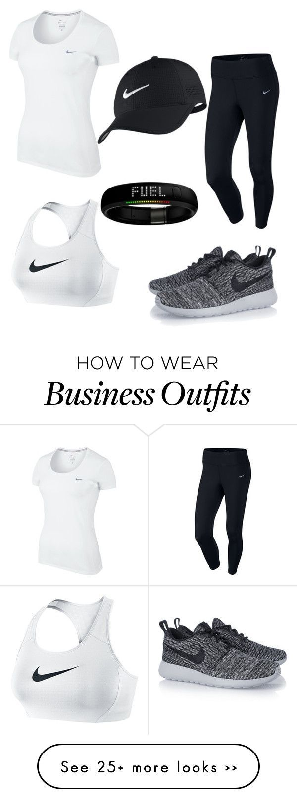 """""""nike"""" by abbyem11 on Polyvore featuring moda e NIKE"""