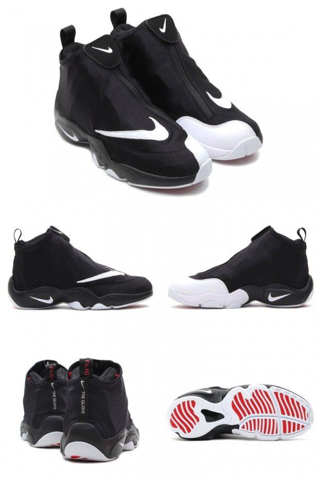 "Nike Air Zoom Flight 98 ""The Glove"" Black/White-University Red"