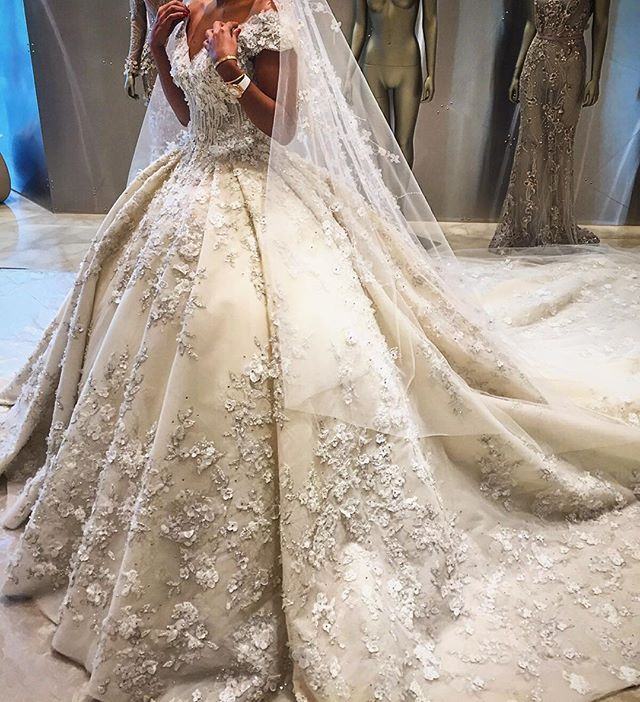 You look lovely today • Ziad Nakad Bridal collection