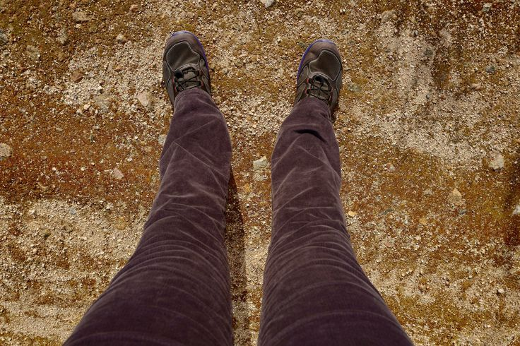 Gap Skinny Boot corduroy and my Ecco`s shoes walking in perfect fall weather...