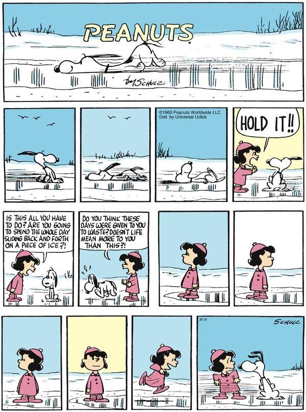 Peanuts Comic Strip, December 15, 2013 on GoComics.com