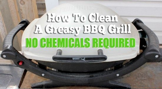 Clean A Greasy BBQ