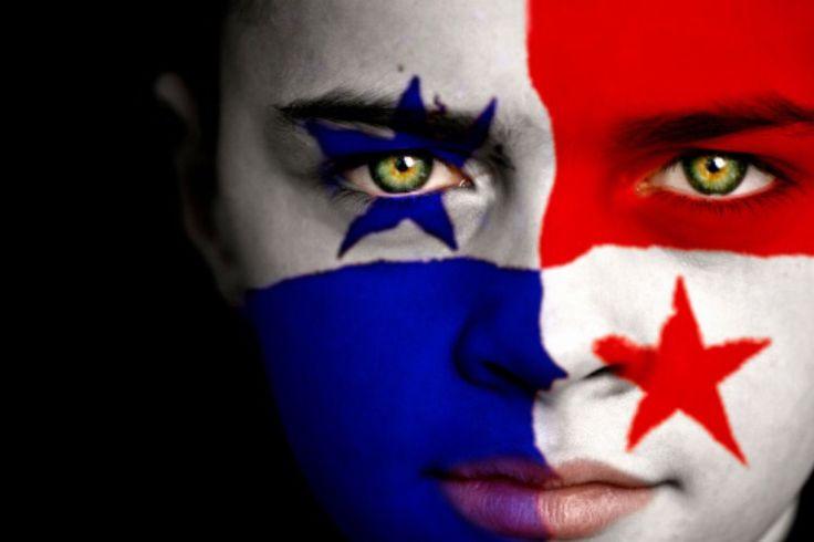 Panama Flag Boy Capital: Panama City