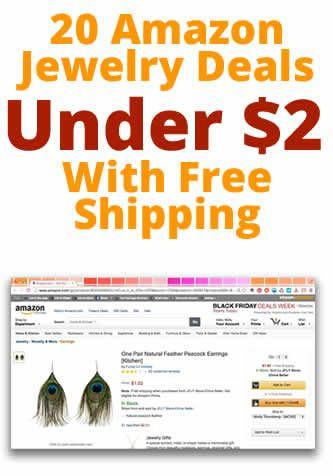 20 Amazon Jewelry Deals UNDER $2! These make great gifts for teens and tweens