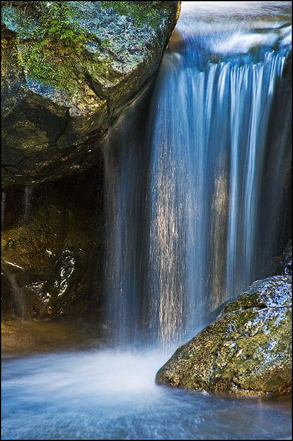 Waterfall on Redwood Nature Trail, Siskiyou National Forest, Oregon.