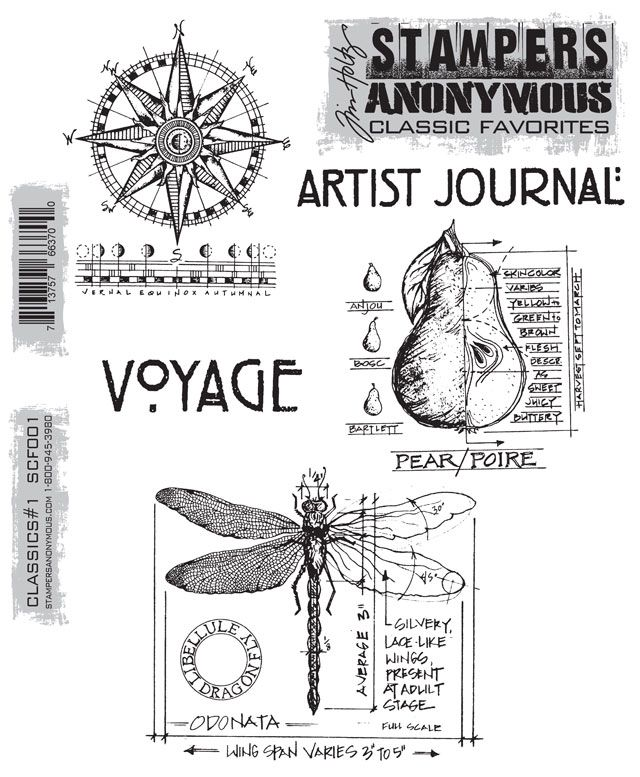 Stampers Anonymous: Classics #1Stamps Classic, Clings Rubber, Clings Mount, Mount Stamps, Anonymous Clings, Stamps Sets, Tim Holtz, Rubber Stamps, Stampers Anonymous