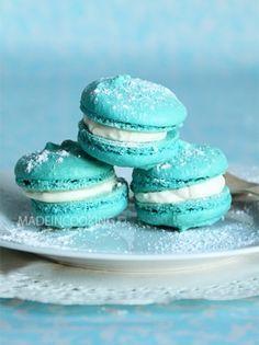 #Macarons au chocolat blanc
