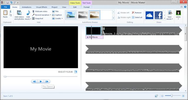 Windows Movie Maker Free Video Editor From Microsoft Windows Movie Maker Video Editing Free Video Editing Software