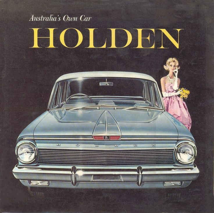 1963 EJ Holden - Our family car when I was a kid.