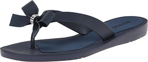 Guess Womens Tutu Sandal Navy 5 Medium US -- Check out this great product.(This is an Amazon affiliate link and I receive a commission for the sales)
