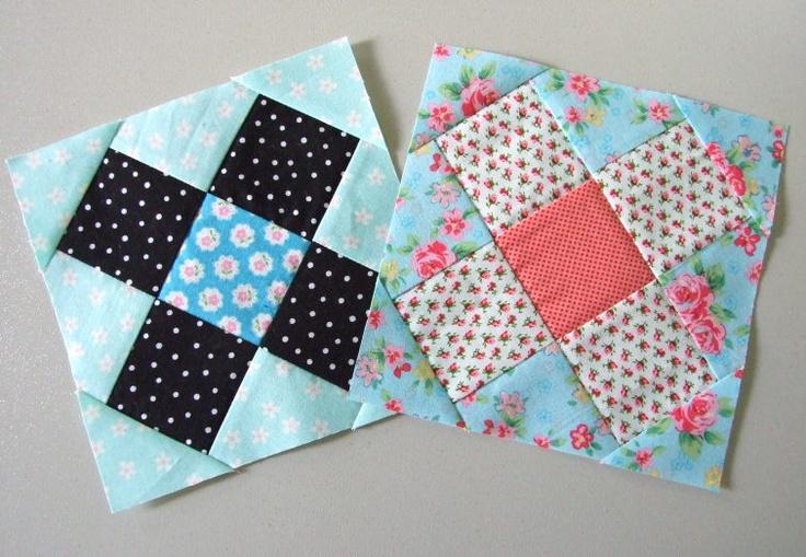Mini granny square block - tutorialSmaller Block, Quilt Ideas, Minis Granny, Quilt Block, Granny Square Tutorial, Minis Quilt, Quilt Tutorials, Granny Squares Tutorials, Note