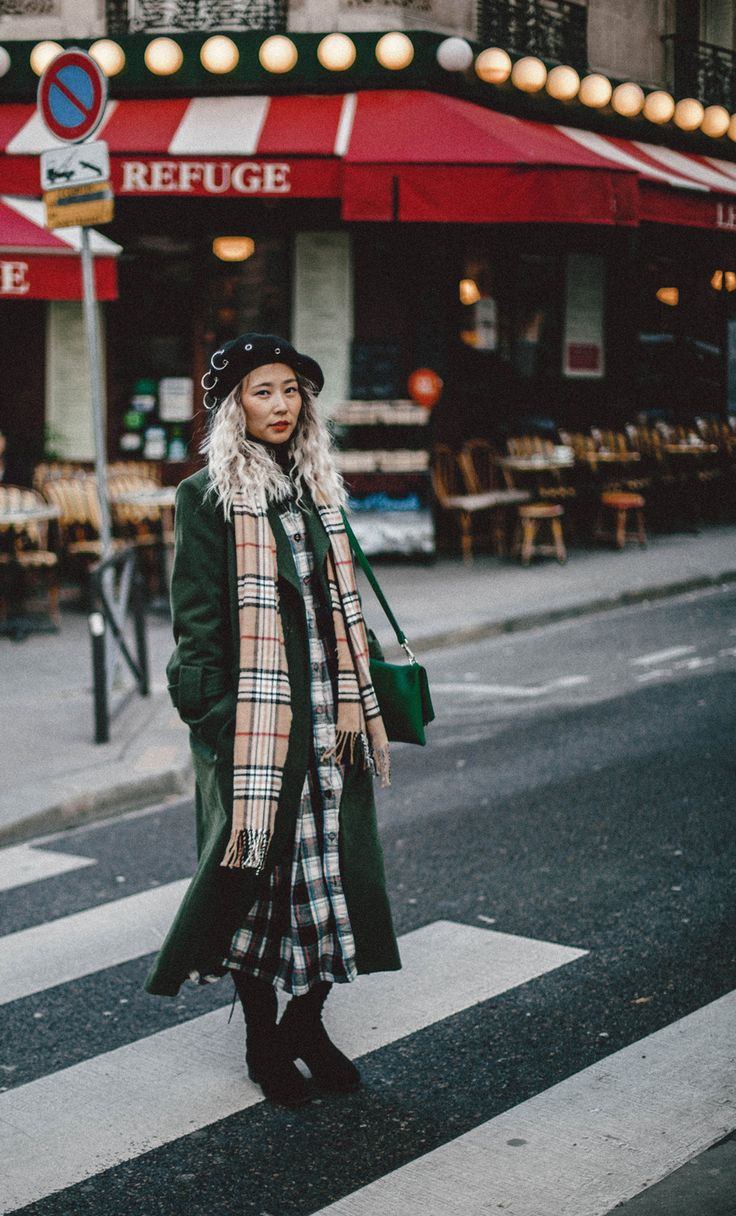 Christmas Wish List – Queenhorsfall #greencoat #winterstyle #paris #france #frenchstyle #longcoat #winterstyle #ootd #fashion #fashionblogger #style #styleinspiration #burberryscarf #holidaystyle #plaiddress