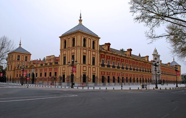 Palace of San Telmo in Seville: This marvellous Baroque palace now serves as the seat of the presidency of the Andalusian Autonomous Government.  Detailed information http://www.tripomatic.com/Spain/Andalusia/Seville/Palace-of-San-Telmo/