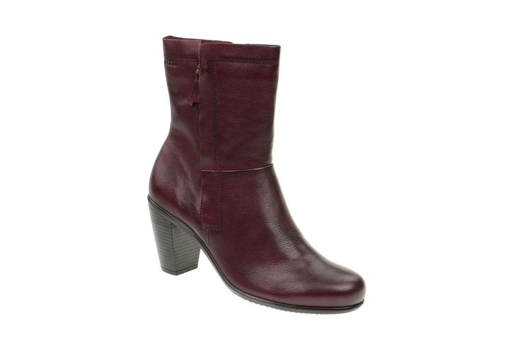 Ecco Touch 75B Stiefel rot High Heels