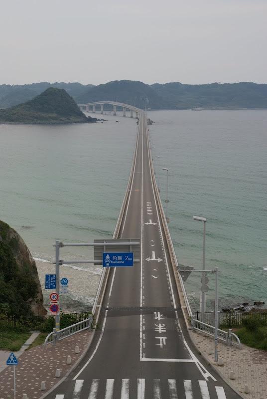角島大橋  Tsunoshima bridge, Yamaguchi pref., Japan.