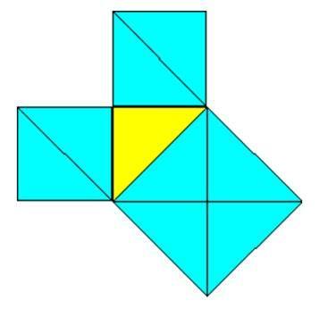 Théorème de Pythagore, démonstration simpliste