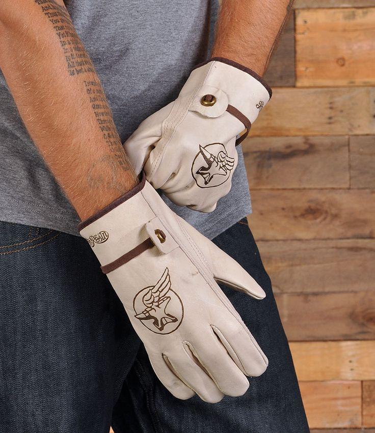 iron & resin summer motorcycle gloves